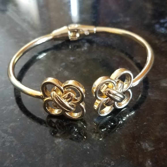 Talbots Gold Cuff Bracelet